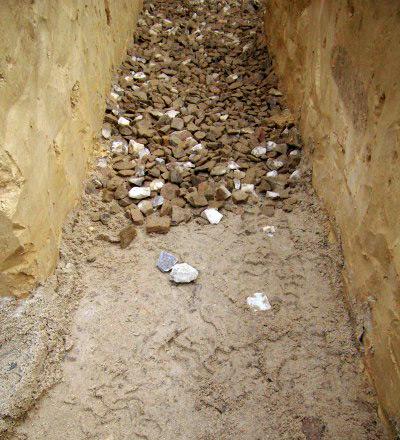 Фундамент из песка 185