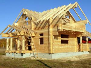 Фото: сруб дома из кедрового бруса