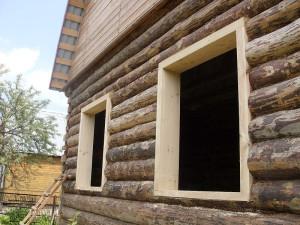 фото: обсада окон и дверей
