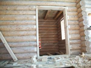 Фото: установка дверей в обсаду