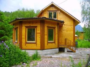 фото: дом из профилированного бруса плюсы и минусы