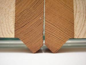 фото: комбинированный клееный брус