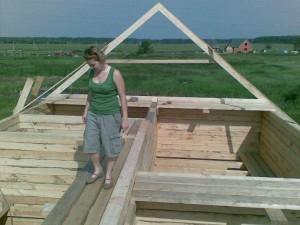 фото: сборка крыши