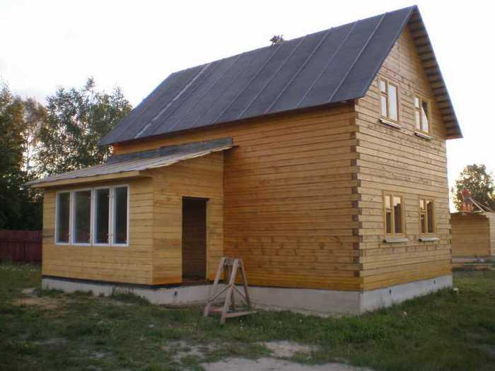 Последовательность строительства дома из бруса своими руками