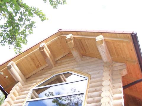 фото: устройство крыши деревянного дома