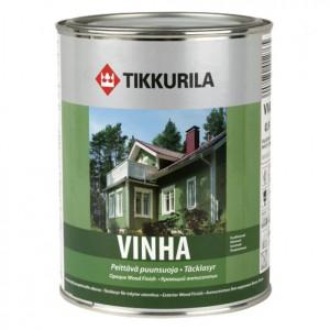 фото: Тиккурила Vinha для покраски дома из бруса