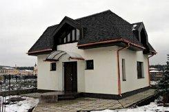 фото: Вальмовая крыша пример
