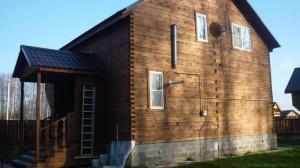 фото: дом покрытый матовым составом