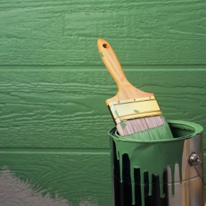 фото: краска для имитации бруса
