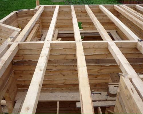 Построить деревянный дом из бруса своими руками