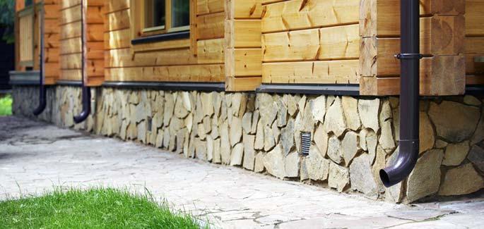 Чем обшить деревянный дом  Cotlixcom