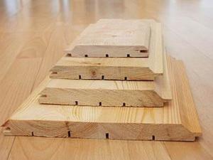 фото: Вагонка деревянная