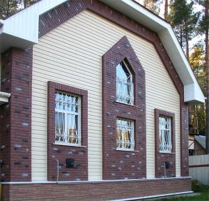 фото: Вентилируемый фасад из сайдинга
