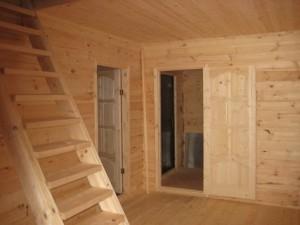 фото: Внутренняя отделка дома из бруса