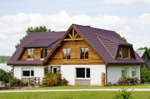 фото: внешняя отделка деревянного дома