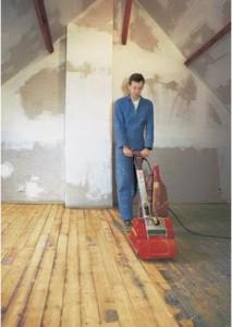 фото: Циклевание деревянного пола