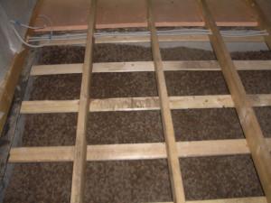 фото: деревянные лаги