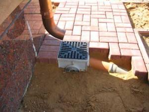 фото: устройство дождеприемника