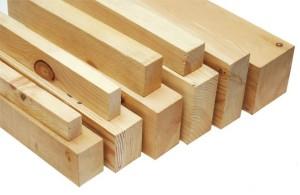 фото: брус для деревянных лаг