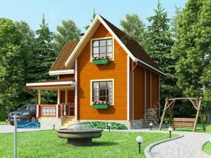фото: дом по индивидуальному проекту