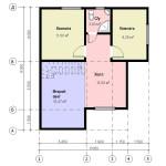фото: проект второго этажа дома 8х9