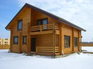 фото: проекты домов из бруса 9 на 9