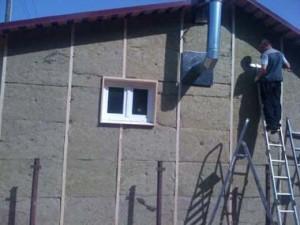 фото: отделка фасада минватой