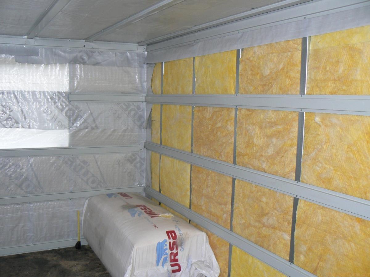 фото: утепление брусового дома изнутри