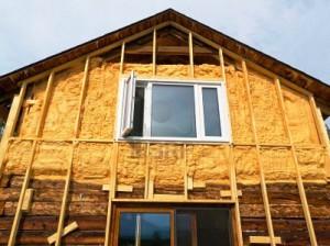 фото: утепление деревянного дома снаружи