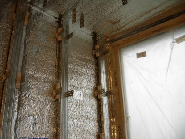 фото: утепление дома внутри пенофолом