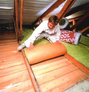 фото: утепление потолка дома