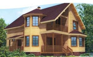 фото: Правильная усадка сохраняет геометрию дома